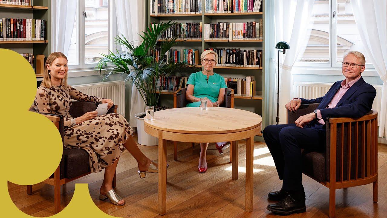 Ett digitalt samtal från Sveriges riksdag med rubriken Yttre hot och desinformation – en fara för demokratin?