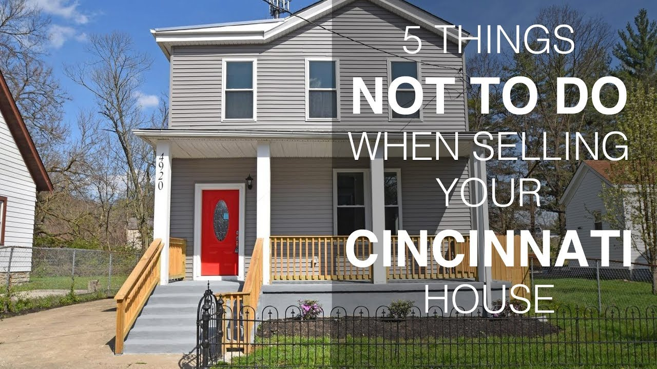 5 Tips on How To Sell Your House for the Most Money in Cincinnati