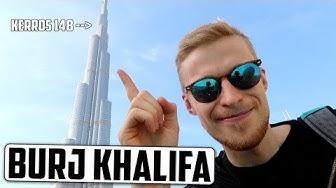 Käytiin maailman korkeimmassa rakennuksessa! (ja jossai oudos puutarhas lol)
