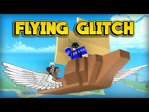 INSANE FLYING BOAT GLITCH! (ROBLOX Booga Booga)
