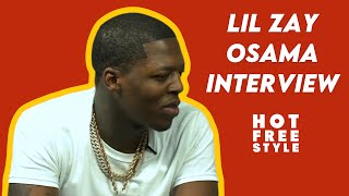 Lil Zay Osama TaĮks Growing Up In Chicago, Juvenile Life Sentence, Bailing Out Inmates & More!