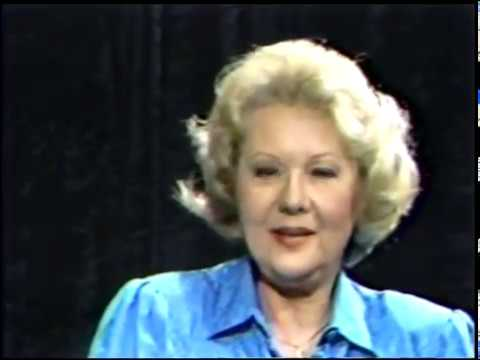 Virginia Mayo-- Rare 1984 TV Interview, Skip E. Lowe
