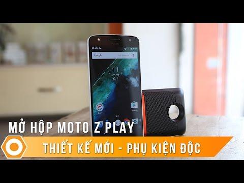 Motorola Z Play: Thiết kế lạ - Phụ kiện độc.