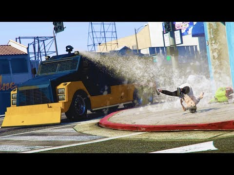 ARMORED FIRETRUCK TROLLING & WAR OF RAGE! | GTA 5 Funny Moments