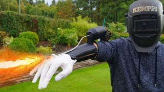 INSANE 3D PRINTED FLAMETHROWER!!!
