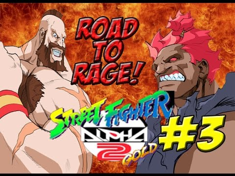 Road To Rage! Akuma Dramatic Battle (Street Fighter Alpha 2 Gold) Finale! - 동영상