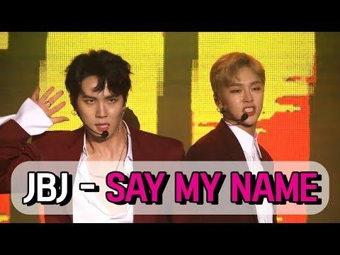 JBJ - SAY MY NAME 무대 STAGE (171018 JBJ 'FANTASY' DEBUT SHOWCASE)