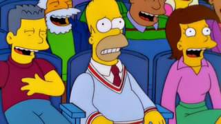 The Simpsons - S12 E9 HOMR Bill Paxton & Bill Pullman Reference