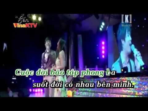 karaoke HD tình nghèo có nhau đào phi dương ft lý diệu linh