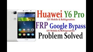 Huawei Y6 Remove Google Account,FRP Free removo- How to huawei y6 google bypass Free Android