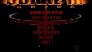 Quake 3: Arena gameplay (PC Game, 1999)