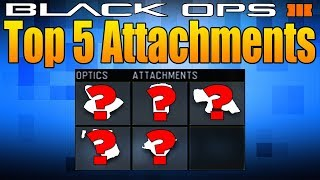 Top 5 Attachments in Black Ops 3 (Black Ops 3 Best Attachments)