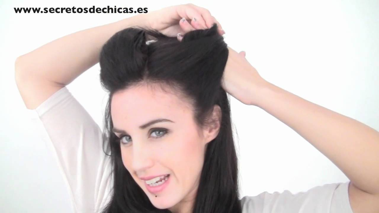 Peinado Recogido Pin Up Estilo Katy Perry Youtube