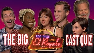 How well do the cast of Bad Times at the El Royale know each other?