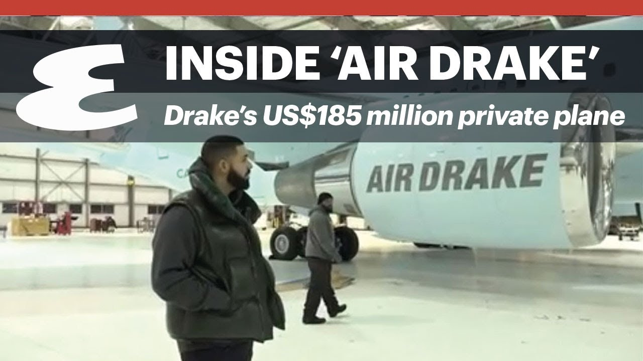 Drake's US$185 million private jet
