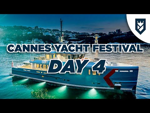 CANNES YACHT SHOW DAY 4 - K YACHTS, ROSETTI, AMD MORE!