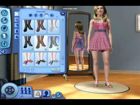 Sims 3: Creating a Sim...