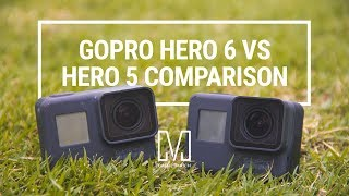 goPro 6 black vs Gopro 5 Black обзор на русском! Тест и сравнение!