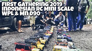 First Gathering Mini RC Scale Indonesia - WPL MND90