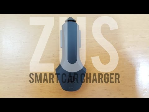 ZUS Smart Car Charger - Review - Demonstration (Discount Code/Link)