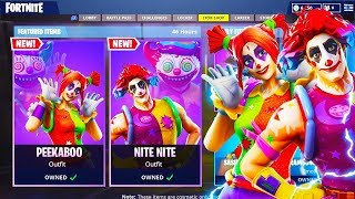 New CLOWN SKINS *CUSTOMIZED* Gameplay in Fortnite.. (Fortnite Battle Royale)