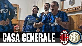 Emozioni incredibili a Casa Generale | LIVE REACTION MILAN-INTER 0-3