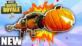 *NEW HALLOWEEN UPDATE* LAUNCHER & M16 SKINS, SLURP JUICE & MORE! (FORTNITE BATTLE ROYALE GAMEPLAY)