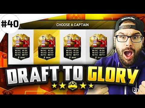 HOLY SH*T THE GOAT 91 LEWANDOWSKI! - Draft to Glory #40 - FIFA 16 Ultimate Team