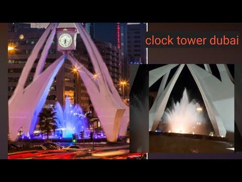 Clock Tower Dubai..#2021 dubai vlogger.