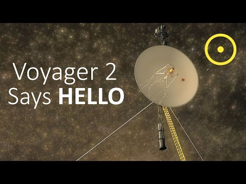 Voyager 2 Contacts Earth From Interstellar Space