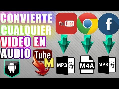 Como Convertir Los Vídeos De Youtube En Audio Mp3 M4a Android Youtube