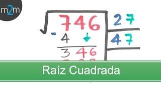 raz cuadrada square root