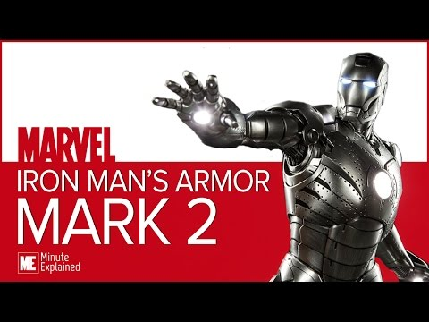Iron Man's MARK 2 ARMOR Explained | The first to sustain flight! (MCU)