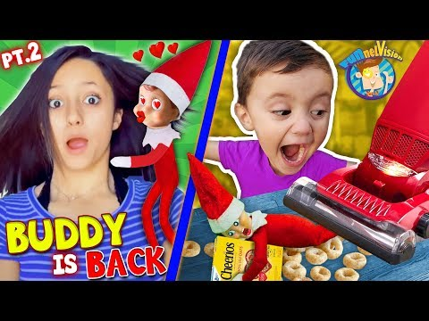 Our ELF on the SHELF Loves LEXI!! Buddy In a VACUUM! (FUNnel Xmas Vision Days 47)