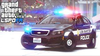 GTA 5 - LSPDFR Ep434 - Christmas in Los Santos!!