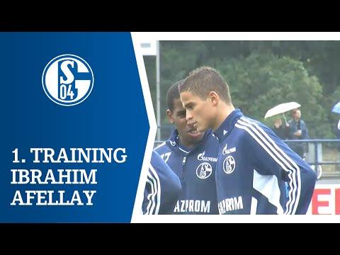 1. Training Ibrahim Afellay