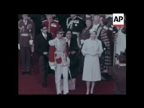 London - State Visit Of The King and Queen Of Nepal - 1960
