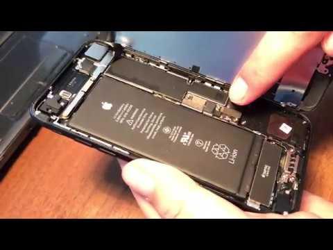 IPhone 7 ОТКАЗ В РЕМОНТЕ! Вскрывали и сняли защиту АКБ