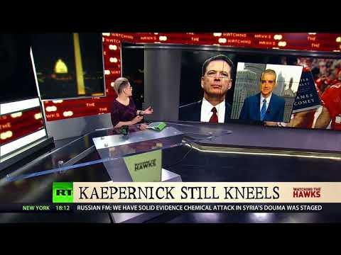 Steve Malzberg on James Comey, Colin Kaepernick, and Paul Ryan | Watching the Hawks on RT America |