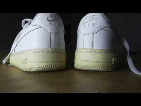 White Shoe Polish On Nike Midsoles