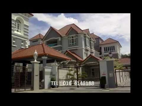 Penang property - luxury bangalow with swimming pool in prime Georgetown Penang