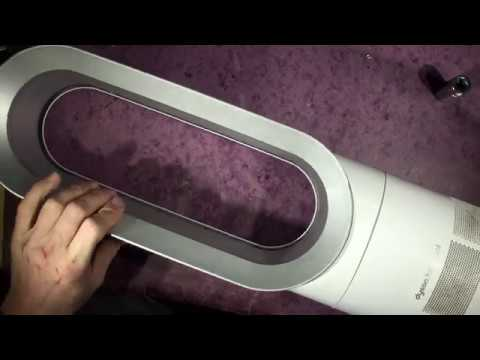 Dyson Hot + Cool heater not blowing easy repair and service and filter Clean