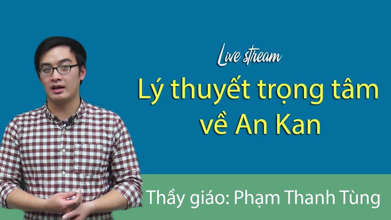 Bài tập lí thuyết trọng tâm về ankan – Hóa 11 thầy giáo Nguyễn Thanh Tùng
