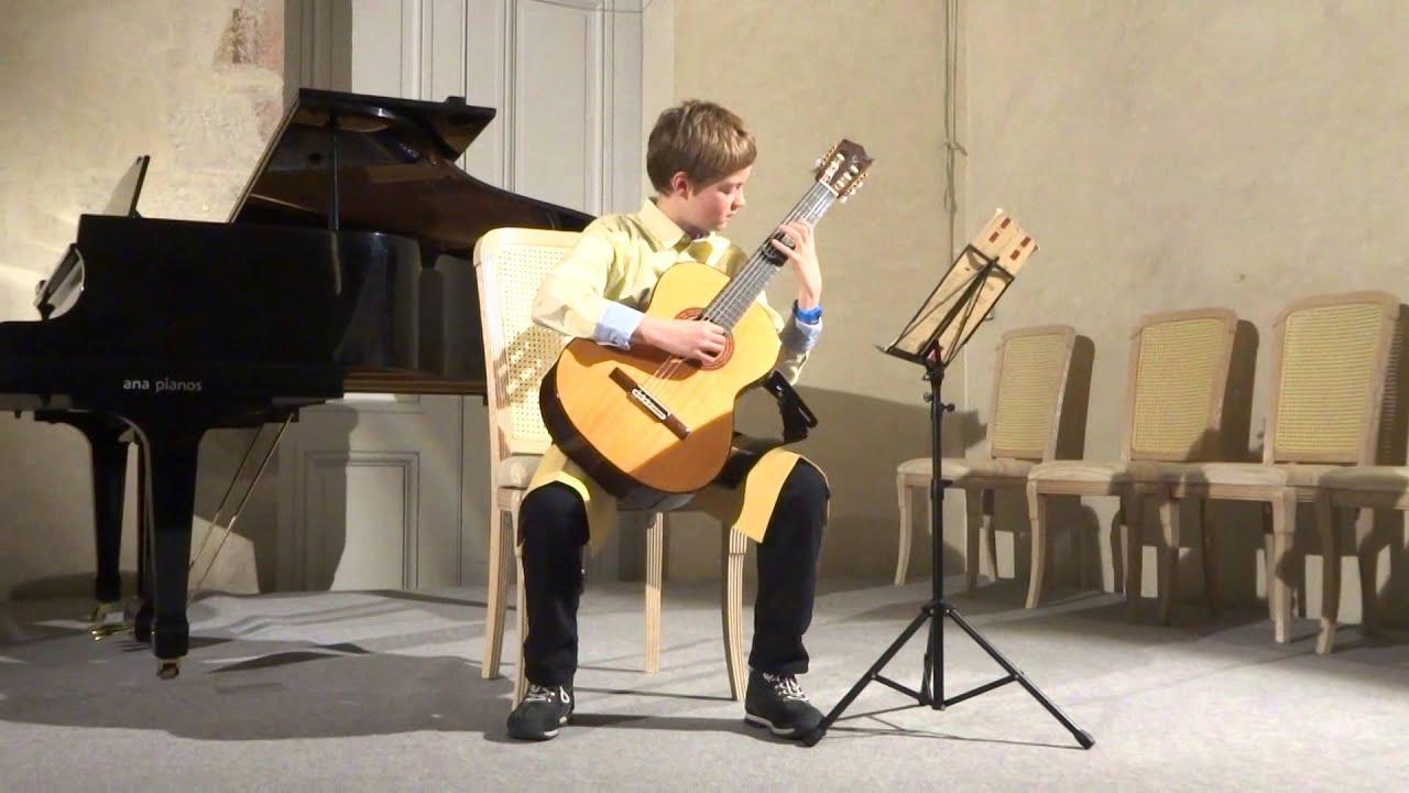 prélude 5 Villa-Lobos guitare Yann Pannecoucke - YouTube