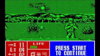 Memorias Spectrumeras 06 - Operation Thunderbolt (ZX Spectrum)