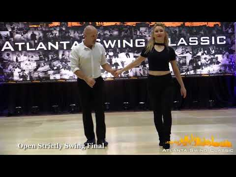 Robert Royston & Victoria Henk - Atlanta Swing Classic 2017 Open Strictly 2nd Place