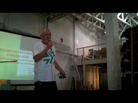 Rick Simpson answering on diabetes and cannabis in Belgrade 27.09.2014
