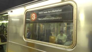 NYC Subway Special: Harlem-bound R62 (3) Entering & Leaving 34th Street-Penn Station (Track 4)