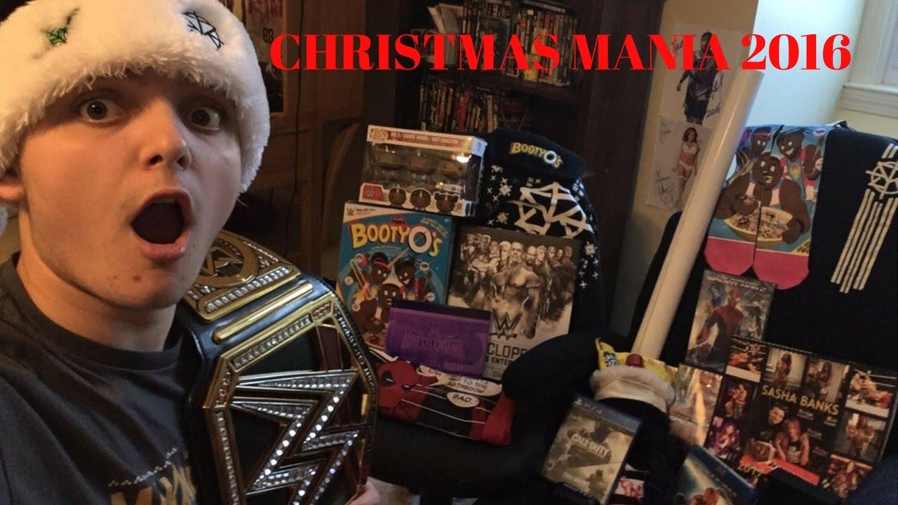 ChristmasMania!!!! EPIC WWE CHRISTMAS GIFTS 2016 - YouTube