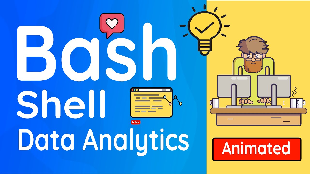 Learn Practical Data Sciences with Bash Shell: Full Video Course!